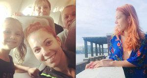 Nosková po rozchodu s Báborem: Musela zaplatit 24 tisíc, aby mohla domů