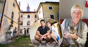 Na zámek mu půjčila, na opravy už maminka nemá. Kde vezme Stropnický další miliony?