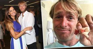 Rybář Jakub Vágner podstoupil bolestivý zákrok! Bude ho ošetřovat Bučková?