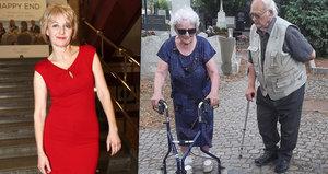 Překvapená Veronika Žilková: Moje máma (94) byla na rande!