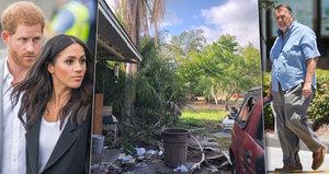 Meghan rudá hanbou: Její strýc se válí v odpadcích a vydává se za biskupa