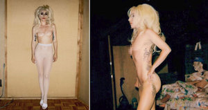 Lady Gaga odhodila šílené kostýmy a vystavila se úplně nahá!