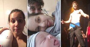 Míša Tomešová 2 týdny po porodu: Návrat do divadla! Syna bere s sebou