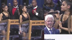 Skandál na pohřbu Arethy Franklin (†76): Zpěvačku osahával kněz, Clinton mlsně pokukoval