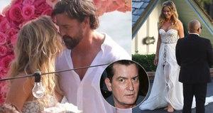 Bývalka Charlieho Sheena Denise Richards se znovu vdala! Na svatbě chodila bosa