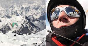 Dalibor s Jurajem bez kyslíku přeletěli na křídle nad K2, jeho parťák zemřel při banální nehodě! Život je nejistý podnik říká dobrodruh