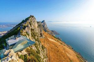 To musíte vidět! Gibraltar, oceán, moře a Afrika jako na dlani