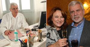 70. narozeniny Petra Štěpánka: Zlata mu zařídila mejdlo přímo v Ordinaci