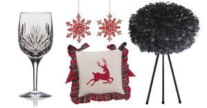 Peří, křišťál i červená! Tohle jsou letošní vánoční trendy: Jak se vám líbí?