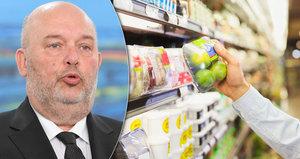 Nová pravidla pro slevy v obchoďácích? Ministr promluvil i o másle a jablkách z Polska