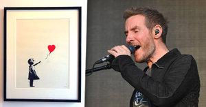 30 milionů v tahu a oči pro pláč: Banksyho obraz se po vydražení sám zničil!