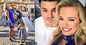 Štastná Lucie Borhyová u oltáře: Velký den a rodinné štěstí, rozplývala se