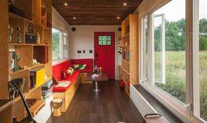 Mobilní dům z recyklovaných materiálů vám umožní žít bez přípojek a hypotéky