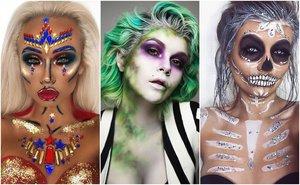 Halloweenské make-upy, které vám vyrazí dech!
