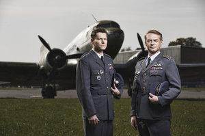 Nový film ČT Balada o pilotovi: Malík byl ve skutečnosti Balík. Natáčelo se v Kbelích, Chotěšově i Švýcarsku