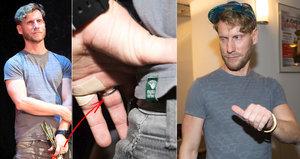 """""""Gay"""" z Účastníků zájezdu Nosek: Na prsteníčku má zlatý prsten! Byla svatba?!"""