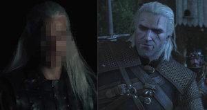 Zaklínač odhalen: Netflix poprvé ukázal Henryho Cavilla jako Geralta z Rivie