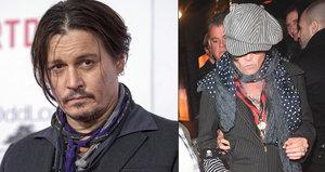 Johnny Depp opět podezřele hubne! Může za propadlé tváře rakovina, jak se strachují fanoušci?
