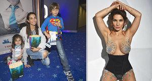 Decastelo o focení pro Playboy: Dost to bolelo! A co na to její děti?