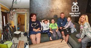 Starší manželé z Mise nový domov: Bez nich by tři děti skončily v děcáku