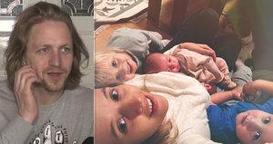 Tomáš Klus nezvládá péči o tři děti: Vybuchuju několikrát denně!