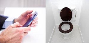 Ale fuj! Mobily jsou sedmkrát špinavější než záchodová prkénka