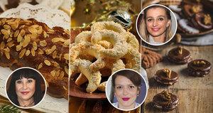 Vánoční recepty hvězd: Co pečou Patrasová, Růžičková a Jirešová?