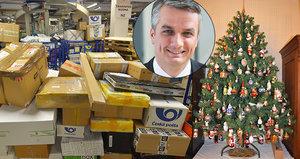 Epicentrum: Dorazí včas vánoční dárky? Odpovídá ředitel České pošty