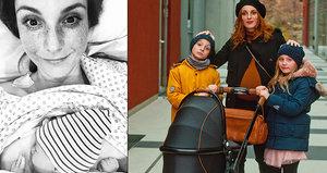 Míša Maurerová si nadělila nejkrásnějí dárek: Týden před Vánoci přivedla na svět holčičku Emmu