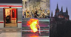 Smrt Palacha, Sametová revoluce nebo první metro: Jaká další velká výročí v roce 2019 oslaví v Praze?