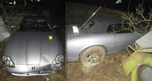 Řádění opilého amerického spratka za volantem: Vyboural se v luxusním jaguáru