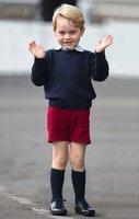 Princ George chodí na balet! A proč ne? Kdo říká, že je jen pro holky?