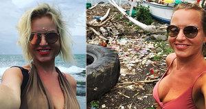 """""""Romantická"""" dovolená Martiny Pártlové na Bali: Bordel a špína!"""