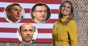 Melania Trump kraluje Slovincům. V žebříčku nejvlivnějších osobností porazila i prezidenta