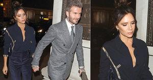 Hra na štěstí Beckhamovým nevyšla! Sluníčko David, kakabus Victoria