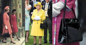 Královna Alžběta II. nosí stejnou kabelku od československého návrháře už padesát let