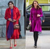 Vévodkyně Kate se opičila po sokyni Meghan! Které to slušelo víc?