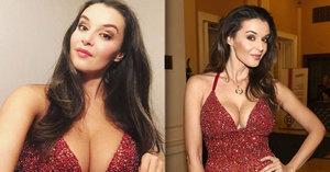 Kubelková po letech vytáhla stejné šaty: Hrome, vnady má snad ještě větší!