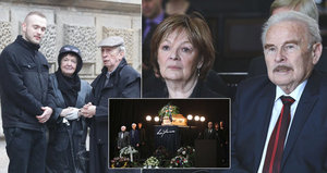 Velké překvapení na pohřbu Luďka Munzara (†85): Místo vdovy přišla exmanželka!