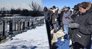 Rabín měl strach o účast na pohřbu hrdiny. Dorazilo 200 lidí i ztracený bratr