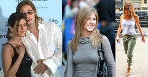 Jennifer Anistonová slaví 50! Proslavili ji Přátelé, Brad Pitt a věčně stojící bradavky
