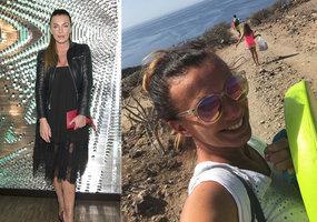 Alice Bendová s rodinou na Kanárech: Útokům na výchovu mazaně předešla!