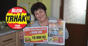 Další peníze z Trháku jdou na Litoměřicko: Zdeňka Trčková (66) ze Štětí odmění sebe i manžela!