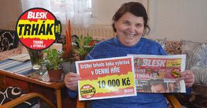 Díky Blesku budu mít nový mrazák! Předplatné se paní Jaroslavě (66) vyplatilo, »trhla« si 10 tisíc