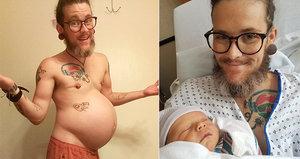 Muž (28) otěhotněl a porodil syna: Kojit ho už ale nemůže