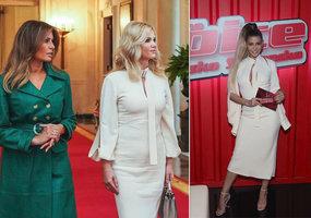 Stylistův přešlap? Babišová měla u Trumpa stejné šaty jako před měsícem Kerndlová!