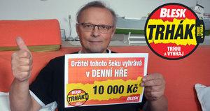 Petr Kouřil (64) »trhl« 10 000 korun: Výhrou umlčel dceru!