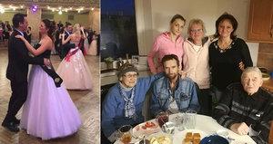 Poslední rodinné snímky muzikanta Hlavatého (†50): Stihl poslední valčík s dcerou!