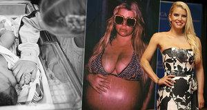 Zpěvačka Jessica Simpsonová porodila! Dceři (4,9 kg) dali jméno Birdie Mae