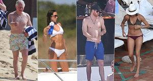 Princ Charles není jediný! V plavkách byli přistiženi i Meghan s Harrym a Kate